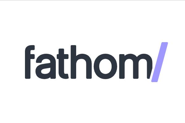 Fathom Analytics logo.