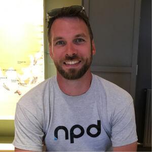 Nathan Partington, Design Director at NPD
