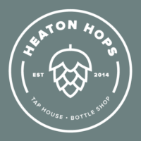 Heaton Hops logo.
