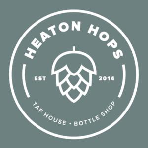 Heaton Hops logo.
