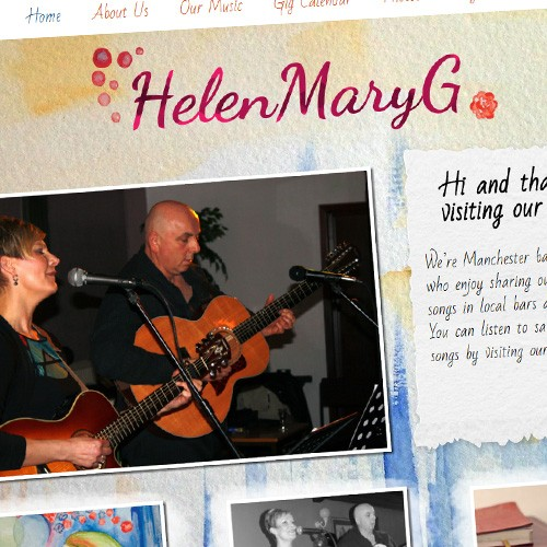 HelenMaryG website